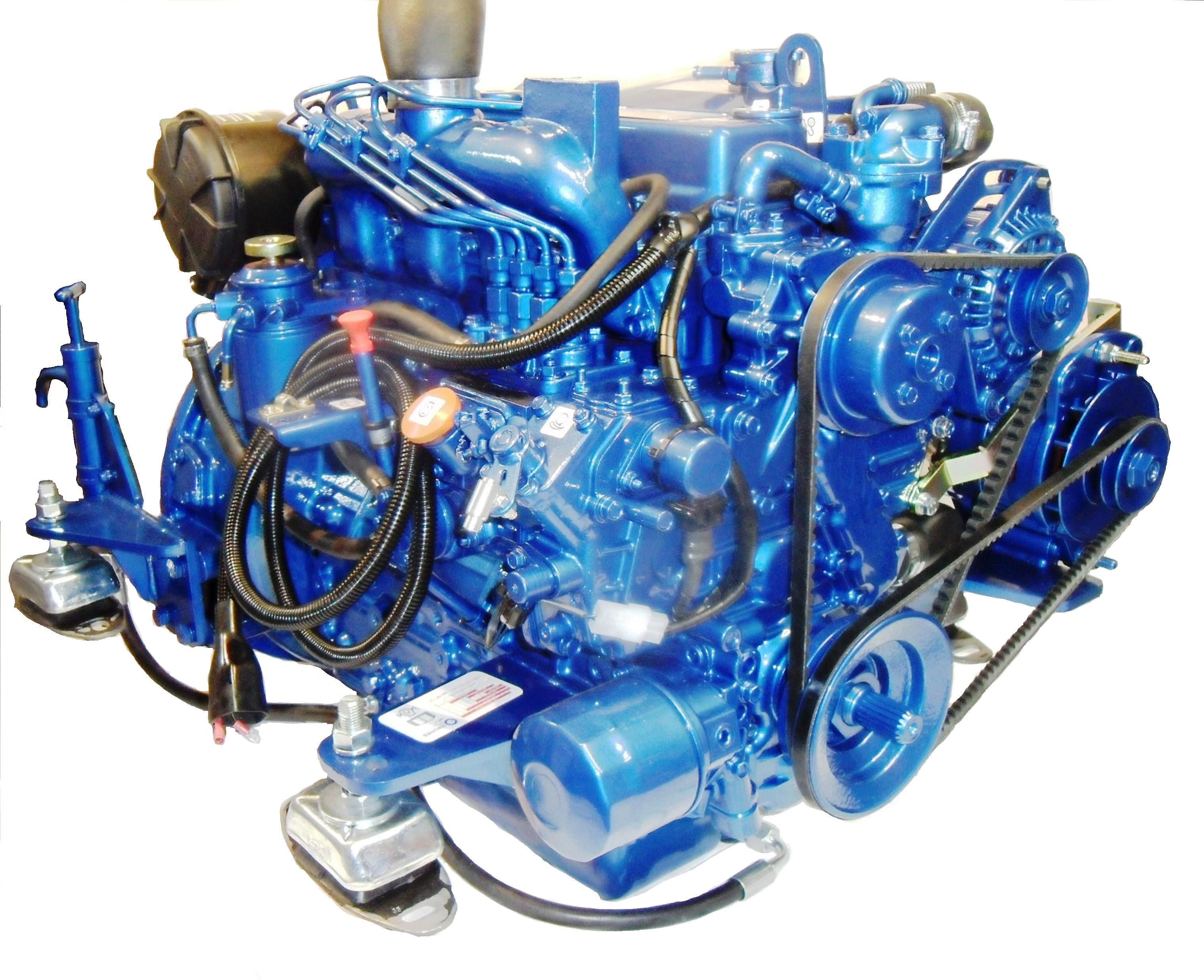 The Canaline 38 Marine Diesel engine is a four cylinder, 38 bhp marine  diesel engine, currently comes as standard with a PRM 125 mechanical marine  gearbox, ...